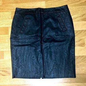 NWT Sexy Faux Leather CAbi Skirt